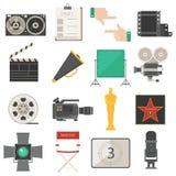 Illustration för uppsättning för vektor för biosymbolsymboler Fotografering för Bildbyråer