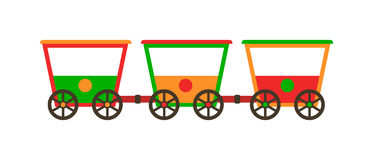 Illustration för vagndrev Stock Illustrationer