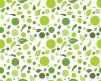 Illustration för vektor för bakgrund för Eco naturblad stock illustrationer