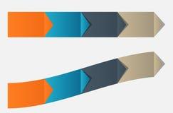 Illustration för vektor för Infographic affärsmall Royaltyfria Bilder