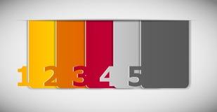 Illustration för vektor för Infographic affärsmall Fotografering för Bildbyråer