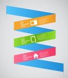 Illustration för vektor för Infographic mallaffär Arkivfoto