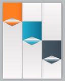 Illustration för vektor för INFOGRAPHICS-designbeståndsdelar Royaltyfri Foto