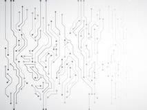 Illustration för vektor för strömkretsbräde Arkivfoto