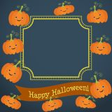 Illustration für die Feier von Halloween stock abbildung