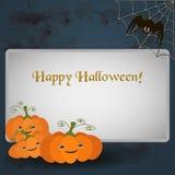 Illustration für die Feier von Halloween lizenzfreie abbildung