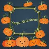Illustration für die Feier von Halloween Stockfotografie