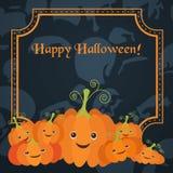 Illustration für die Feier von Halloween vektor abbildung