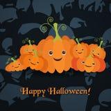 Illustration für die Feier von Halloween Lizenzfreies Stockbild