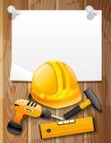 Illustration für Ihren Text Werkzeuge Lizenzfreies Stockbild