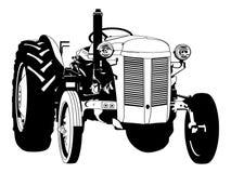 Illustration f?r traktorvektoreps vid crafteroks vektor illustrationer
