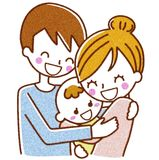Illustration of the family. This is an illustration of a family Stock Photos