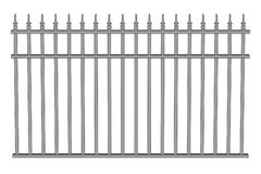 Illustration of fence (railings) Stock Images