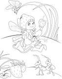Illustration féerique Images stock