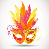 Bautiful carnival mask Royalty Free Stock Photos