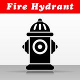 Fire hydrant vector icon design. Illustration of fire hydrant vector icon design Stock Image