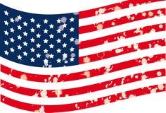 Illustration of  flag Stock Photography