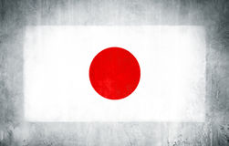 Illustration of Flag of Japan Royalty Free Stock Photography