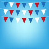 Illustration flags background Stock Images