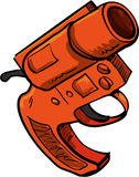 Illustration of flare gun Stock Images