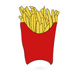 Illustration of flat fast food icon Vector Stock Images