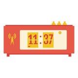 Illustration of flat flip clocks Stock Images