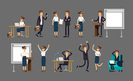 Illustration in a flat style Royalty Free Stock Images