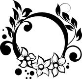 Illustration with floral Royalty Free Stock Photography