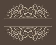 Illustration floral background Royalty Free Stock Images