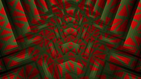 Abstract textured red, green background vector illustration