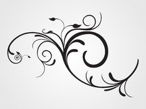Illustration of floral pattern tattoo Royalty Free Stock Photo