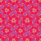 Illustration florale abstraite de vecteur illustration libre de droits