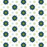 Illustration florale de fond de modèle de vintage de ressort Images stock