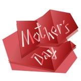 Illustration florale de mère du ` s de vecteur heureux de jour Belle carte de concept pour célébrer le jour du ` s de mère illustration libre de droits