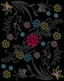 Flower pattern Stock Images