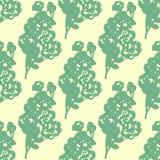 Illustration of flower, rose. Seamless pattern. Stock Photos