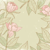 Illustration of flowers Royalty Free Stock Photography