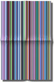Illustration of folded striped paper Stock Photos