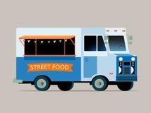 Illustration of food truck Stock Photo