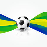 Illustration of football design. Vector illustration of football design Royalty Free Stock Photography