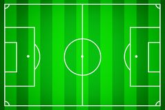 Soccer field as a template for soccer royalty free illustration