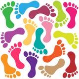 Footprint Royalty Free Stock Photo