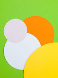 Illustration of Four Coloured Circles Stock Image