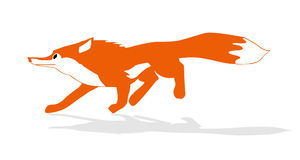 illustration of the fox Royalty Free Stock Image