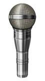 Illustration för mikrofon—3D Arkivbilder