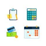 Illustration för pengarsymbolsvektor Arkivfoton