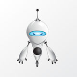 Illustration fraîche de robot illustration stock