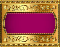 Illustration frame background Stock Photo