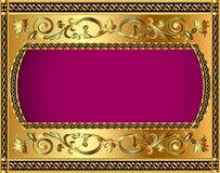 Illustration frame background Stock Photo