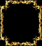Illustration frame from gild Royalty Free Stock Photography